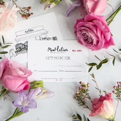 'Mad Lilies' Gift Voucher